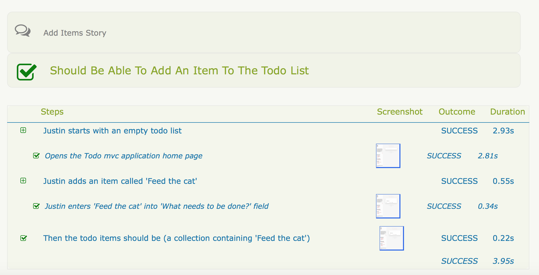 add a todo item